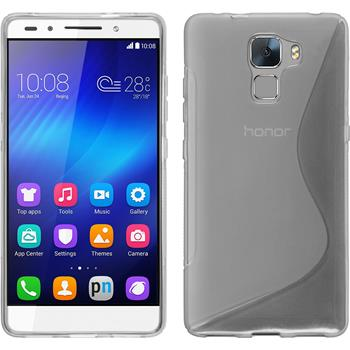 Silicone Case for Huawei Honor 7 S-Style transparent