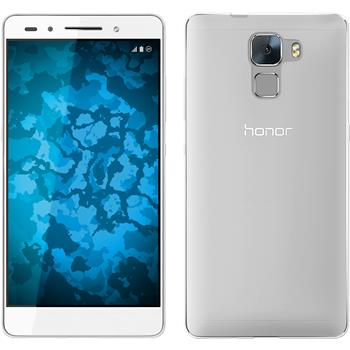 Silicone Case for Huawei Honor 7 Slimcase transparent