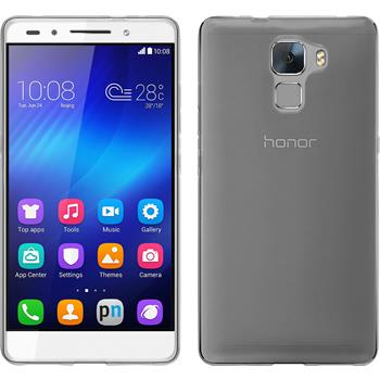 Silicone Case for Huawei Honor 7 transparent Crystal Clear