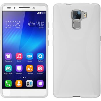 Silicone Case for Huawei Honor 7 X-Style white