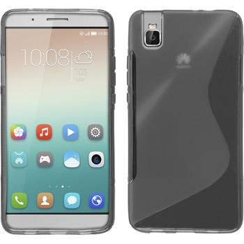 Silicone Case for Huawei Honor 7i S-Style gray