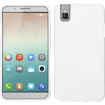 Silicone Case for Huawei Honor 7i S-Style white