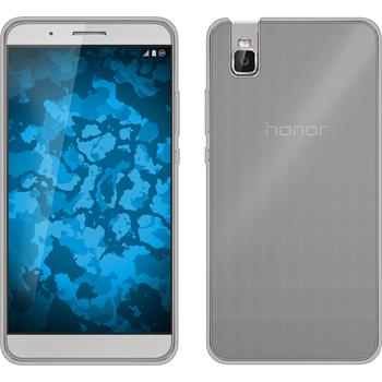 Silicone Case for Huawei Honor 7i Slimcase gray