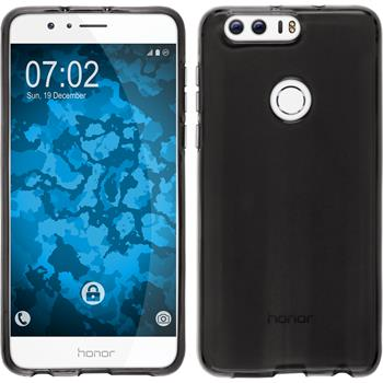 Silicone Case for Huawei Honor 8 crystal-case gray
