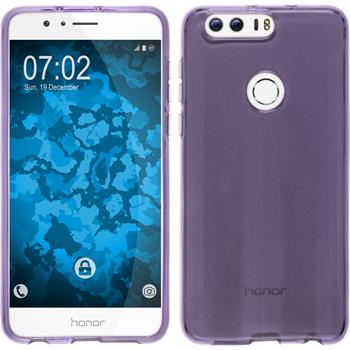 Silicone Case for Huawei Honor 8 crystal-case purple