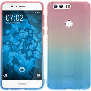 Silicone Case for Huawei Honor 8 Ombrè Design:06
