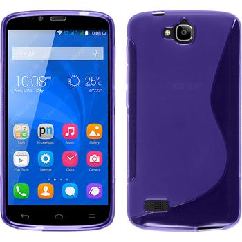 Silicone Case for Huawei Honor Holly S-Style purple