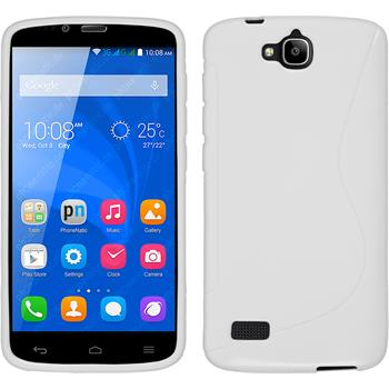 Silicone Case for Huawei Honor Holly S-Style white