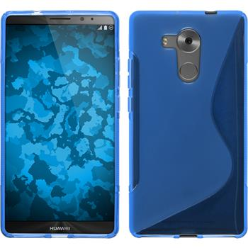Silicone Case for Huawei Mate 8 S-Style blue