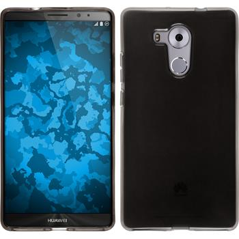 Silicone Case for Huawei Mate 8 transparent black