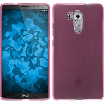 Silicone Case for Huawei Mate 8 transparent pink