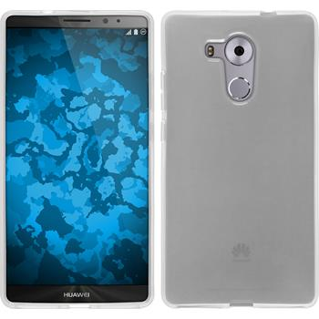 Silicone Case for Huawei Mate 8 transparent white