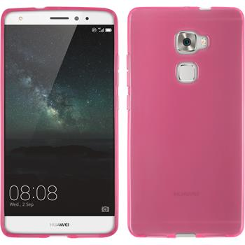 Silicone Case for Huawei Mate S transparent pink