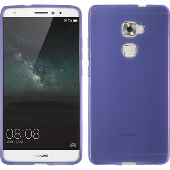 Silicone Case for Huawei Mate S transparent purple