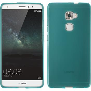 Silicone Case for Huawei Mate S transparent turquoise