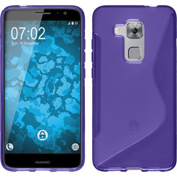 Silicone Case for Huawei Nova Plus S-Style purple