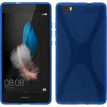 Silicone Case for Huawei P8 Lite X-Style blue