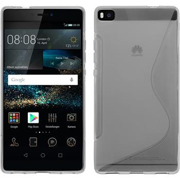 Silicone Case for Huawei P8 S-Style transparent