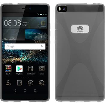 Silicone Case for Huawei P8 X-Style gray