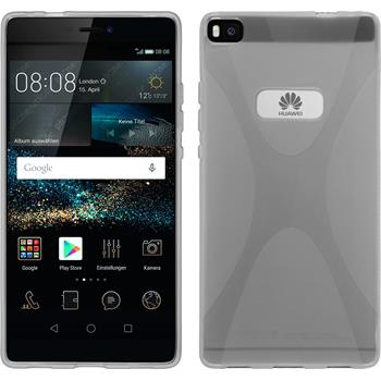 Silicone Case for Huawei P8 X-Style transparent