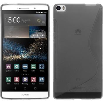 Silicone Case for Huawei P8max S-Style gray