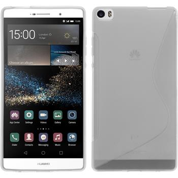 Silicone Case for Huawei P8max S-Style transparent