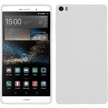 Silicone Case for Huawei P8max S-Style white