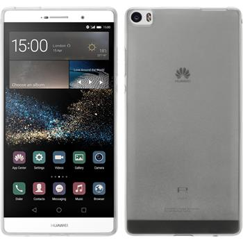 Silicone Case for Huawei P8max transparent white