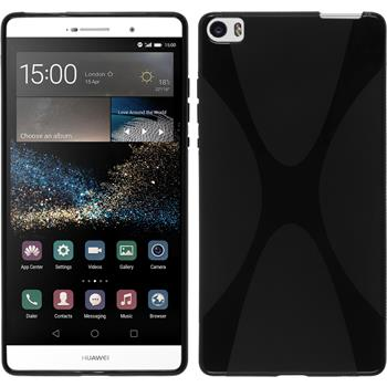 Silicone Case for Huawei P8max X-Style black