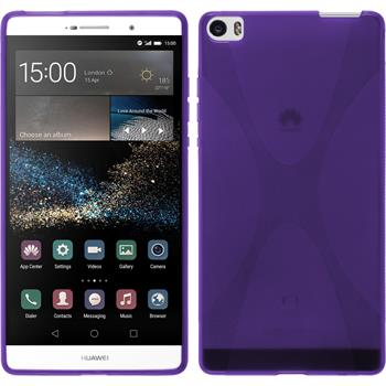 Silicone Case for Huawei P8max X-Style purple