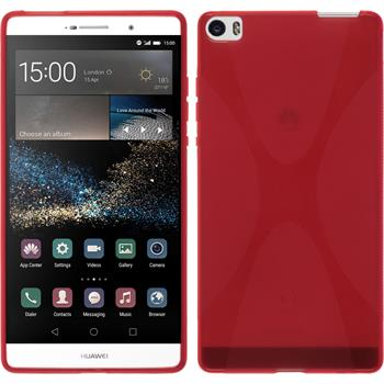 Silicone Case for Huawei P8max X-Style red