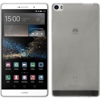 Silicone Case for Huawei P8max X-Style transparent