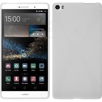 Silicone Case for Huawei P8max X-Style white