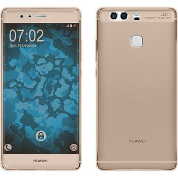 Silicone Case for Huawei P9 360° Fullbody gold