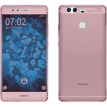 Silicone Case for Huawei P9 360° Fullbody pink