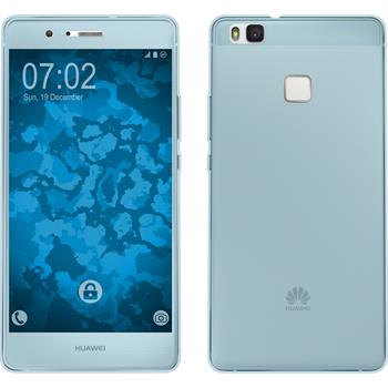 Silicone Case for Huawei P9 Lite 360° Fullbody light blue