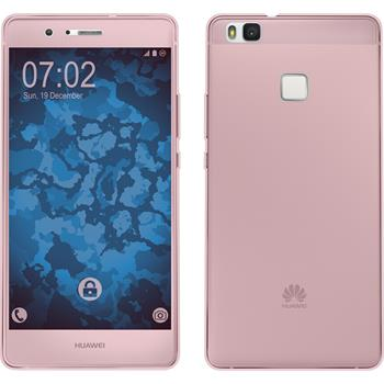 Silicone Case for Huawei P9 Lite 360° Fullbody pink