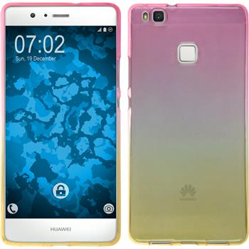 Silicone Case for Huawei P9 Lite Ombrè Design:01