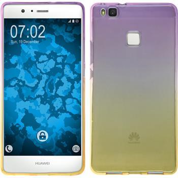 Silicone Case for Huawei P9 Lite Ombrè Design:05