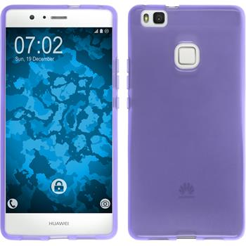 Silicone Case for Huawei P9 Lite transparent purple