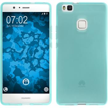 Silicone Case for Huawei P9 Lite transparent turquoise