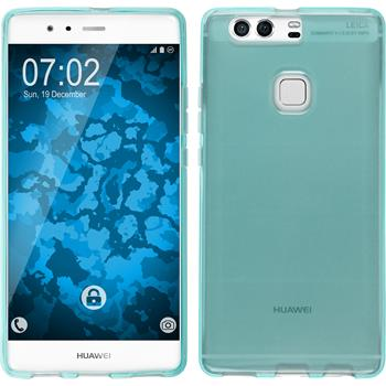 Silicone Case for Huawei P9 Plus crystal-case turquoise