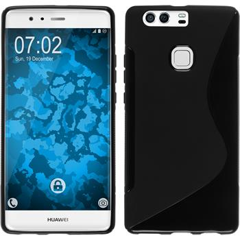 Silicone Case for Huawei P9 Plus S-Style black