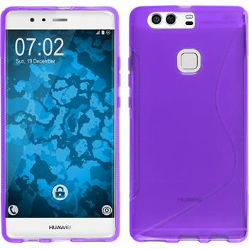 Silicone Case for Huawei P9 Plus S-Style purple