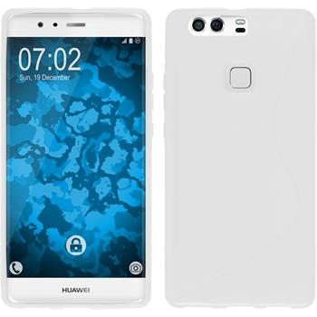 Silicone Case for Huawei P9 Plus S-Style white