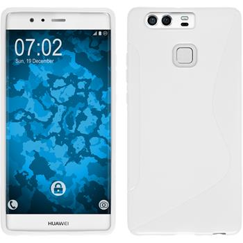 Silicone Case for Huawei P9 S-Style white