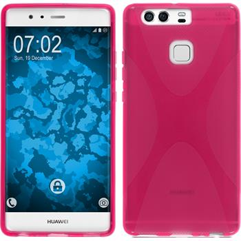 Silicone Case for Huawei P9 X-Style hot pink