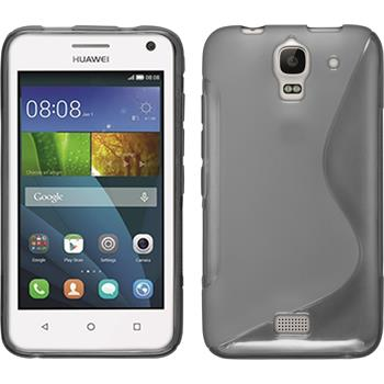 Silicone Case for Huawei Y360 S-Style gray