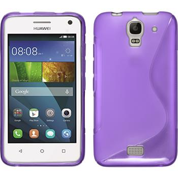 Silicone Case for Huawei Y360 S-Style purple