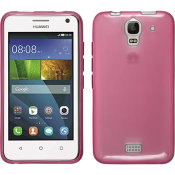 Silicone Case for Huawei Y360 transparent pink